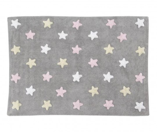TRICOLOR-STARS-GREY-PINK